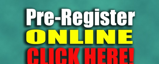 Pre-Register Online & Save!